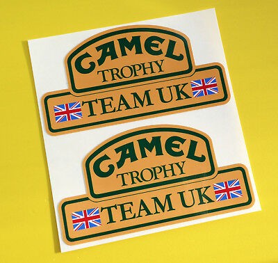 CAMEL TROPHY Team UK 4X4 OFF ROAD STICKERS DECALS Land Rover Defender Discovery