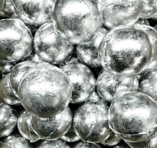 99.9% Pure Zinc Anodes 50Lbs Zinc Anode Round 1# Balls For Metals & Alloys Metal