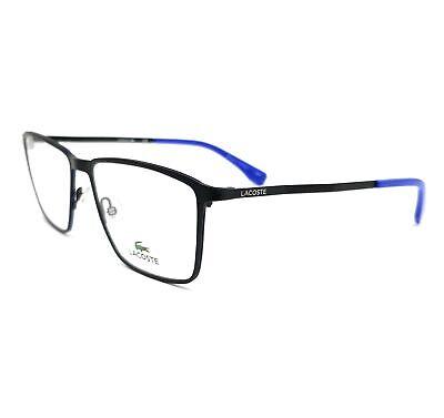 LACOSTE Eyeglasses L2239 002 Matte Black Rectangle Men 56x17