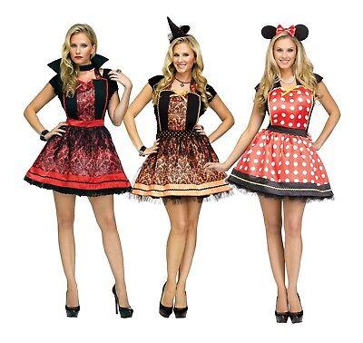 Classic Instant Apron Set Halloween Costume Mouse Vampire Polka Dot One - Vampir Instant Kostüm