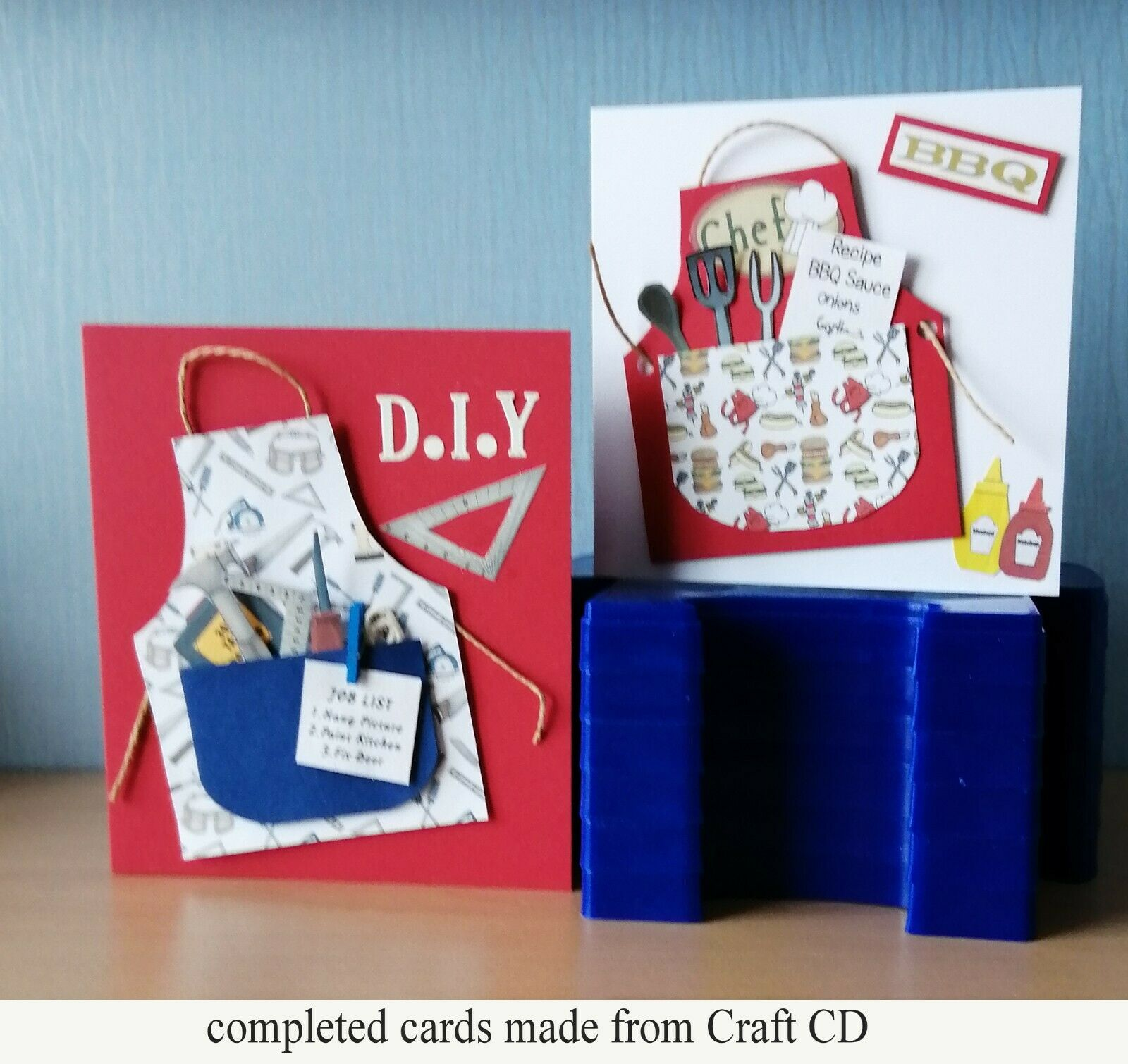 Decoupage sheets Card Making craft CD