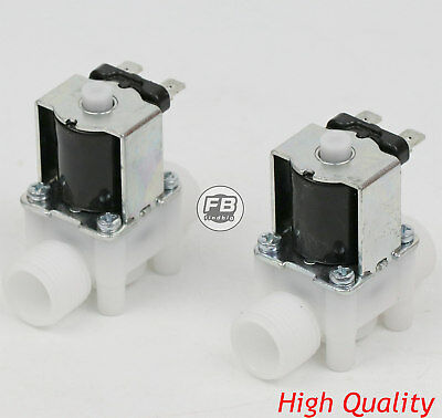 12 12v Dc Electric Solenoid Valve Normally Open Nowater Etc 2 Pcs