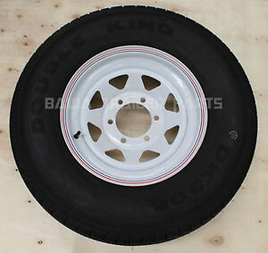 SUNRAYSIA-WHITE-15-6-STUD-LANDCRUISER-WITH-235R15-LT-TYRE-Trailer-Parts