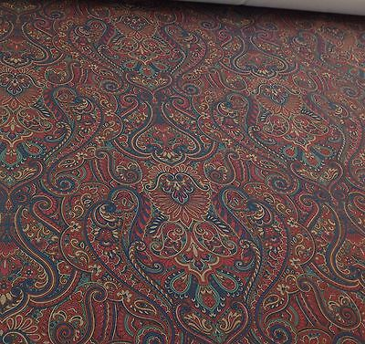 SMD Textiles KLEE Paisley Jewel VELVET Fabric.Curtains/Upholstery/Craft/Cushion