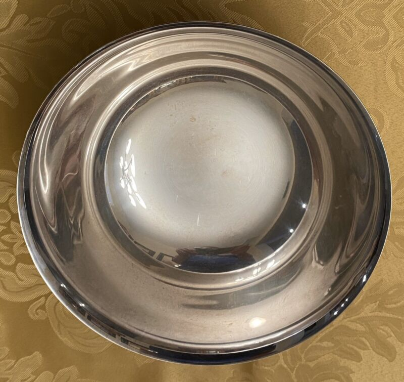 Reed and Barton Silverplate #104 Paul Revere Style Footed Bowl