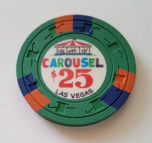 $25 Las Vegas Carousel Casino Chip - Near Mint