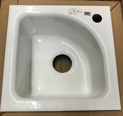 Kohler  K5902-1-0 Sorbet Cast Iron Tile-In Bar Sink - White