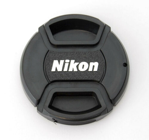 52mm Center Pinch Front Lens Cap for Nikon LC-52 AF-S 35mm 18-55mm 55-200mm NEW