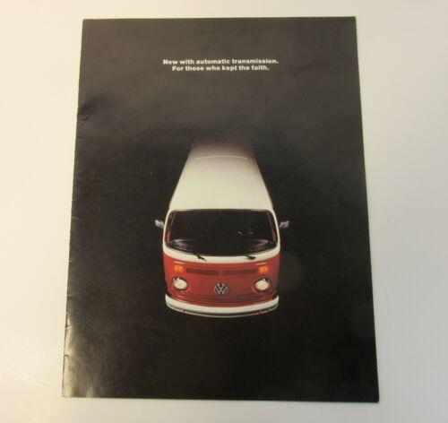1973 Volkswagen VW Bus & Westfalia Campmobile Brochure