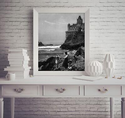 Photo: Famous Cliff House, Seal Rocks, San Francisco, California, CA, c1907, You