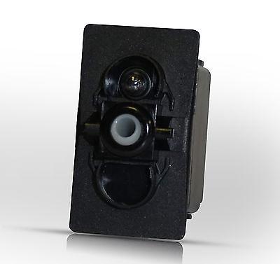 Carling Technologies On Off Spst Lighted Marine Rocker Switch Body. V1dv-b60
