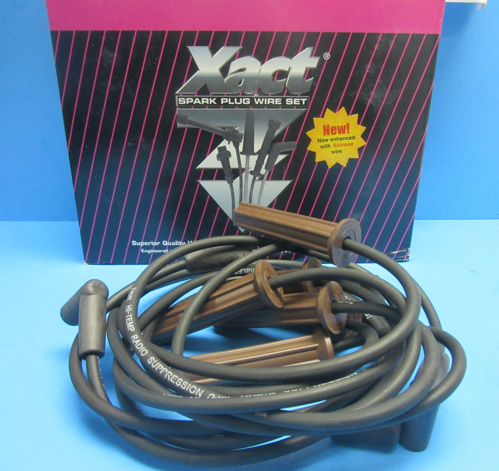 Spark Plug Ignition Wire Set Replace OEM# 19170849 for Buick Chevy Oldsmobile