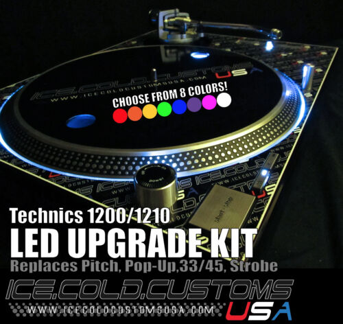 ICE COLD CUSTOMS USA /TECHNICS SL- 1200/1210 LED KIT x 2
