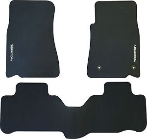 FORD TERRITORY SZ and SZ MkII CAR FLOOR MATS FRONT & REAR SET 2011 to 2016