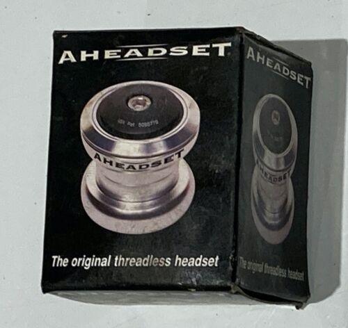 "Aheadset 1"" Threadless Head Set NIB Black HS0118"