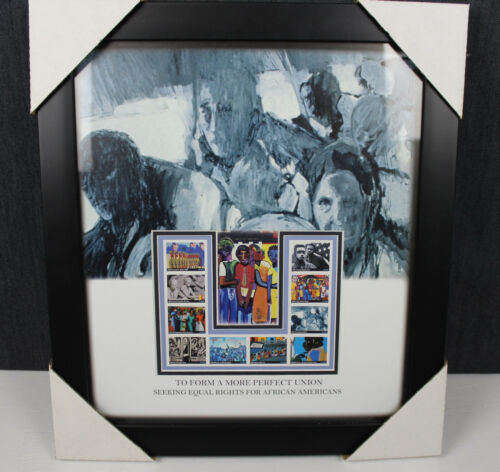 To Form a More Perfect Union 2005 Framed USPS Postage Stamp Print Art Rare