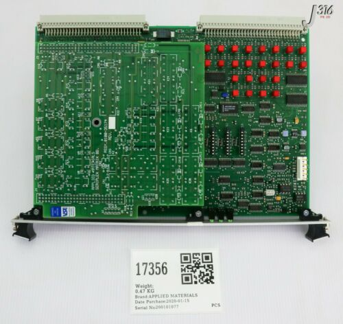 17356 Applied Materials Pcb Seriplex Ctrl Bus W/ 0010-35174 (working) 0190-35652