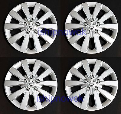 NEW SET 4pcs 16 Hubcap Wheel cover Fits 2010 2017 NISSAN SENTRA ALTIMA ROGUE