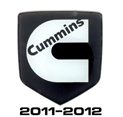 GRILLE EMBLEM fits DODGE RAM 2500-3500 Cummins 2011-2012 Black/White