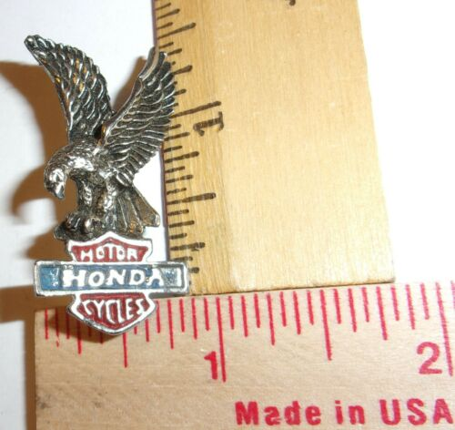 vintage Honda Eagle pin collectible old Japanese motorcycle pinback memorabilia