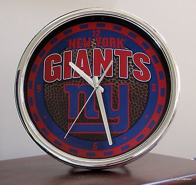 Giants Clock New York 12