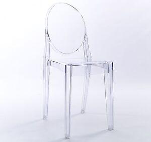 Clear Plastic Chair eBay
