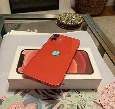 Apple iPhone 12 mini (PRODUCT) RED - 128GB (Unlocked)