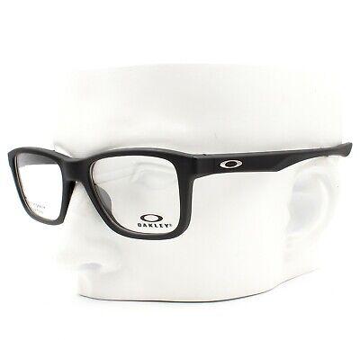 Oakley OX 8107-0151 Trim Plane Eyeglasses Frames Glasses Satin Black (Oakley Glasses Frames For Men)