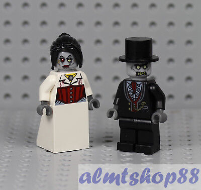 LEGO - Zombie Bride & Groom Minifigure - Halloween Female Male Monster Fighters ](Zombie Bride)