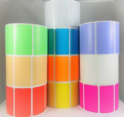 Orange 4x 2.5 Direct Thermal Shipping Zebra Compatible Printer Labels 32 Rls
