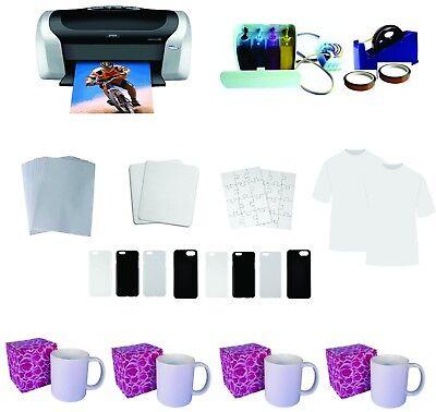 Epson Printer C88 Cissand Sublimation Material Kit
