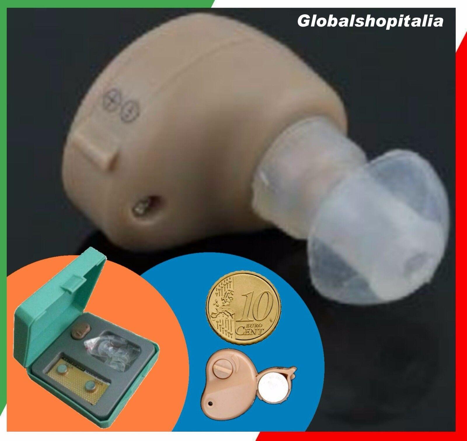✔ Mini Apparecchio Acustico Per Orecchio Auricolare Amplificatore di Suoni Udito