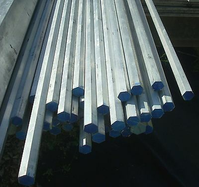 Aluminum Hex Rod 34 X 3 Long Bar Stock 6 Sided Type 6061
