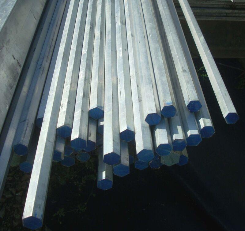 """Aluminum Hex Rod 3/4"""" x 3"""