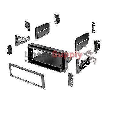 Radio Mounting Stereo Install Installation Single Din Replace Dash Kit