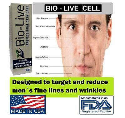 Anti aging Cream FOR MEN Anti Wrinkle Face Effective Mens Bio