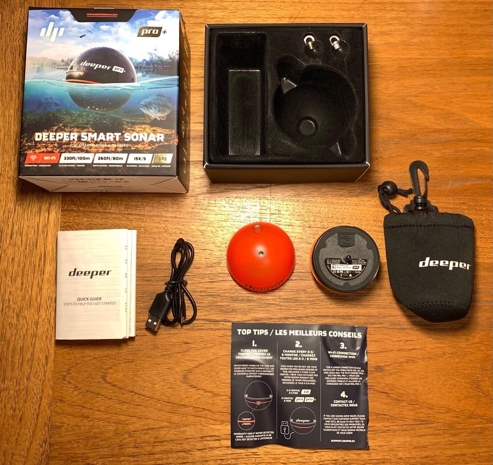 Deeper Sonar Pro Plus with GPS/Wi-fi Wireless Smart Sonar Fi