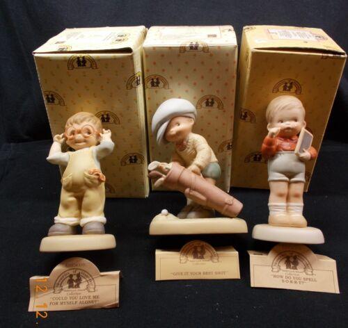 Memories of Yesterday Lot of 3 Figurines (1987-1991) # 525618,525561,114529
