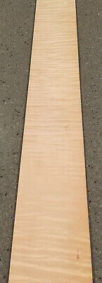 Curly Maple Wood Veneer 6 Sheets 38 X 4.5 7 Sq Ft