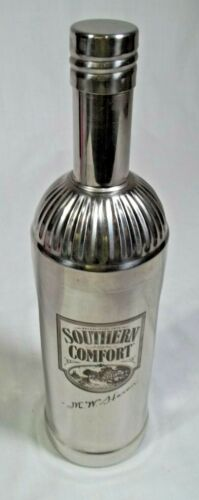 Southern Comfort Shaker Bottle Cocktail 750mL Barware 3 pcs Stainless SteelNIce