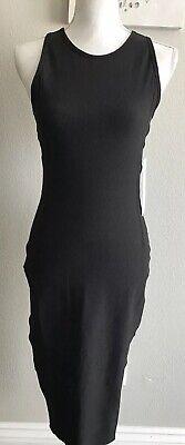 NWT LULULEMON Brunch And Back Midi Dress, BLACK, Size 6