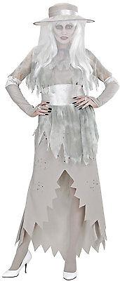 Ghost Lady Geister-Braut Kostüm NEU - Damen Karneval Fasching Verkleidung Kostüm