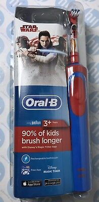 Oral-B Stages Power Electric Toothbrush Rechargeable for Kids Featuring Star War