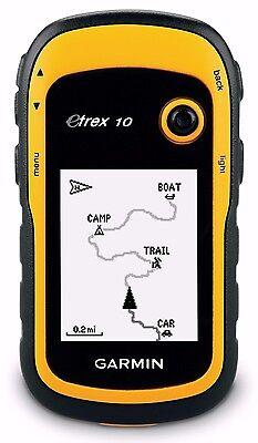 Garmin Etrex 10 Handheld Hiking Gps 2 2  Display Worldwide Basemap 010 00970 00