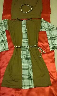 Village Children Costume For Medieval Tudor Roman Shakespeare time merchant