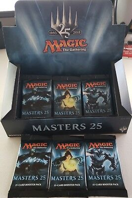 Magic The Gathering Modern Masters 25   3 Sealed Booster Packs Jace Filter