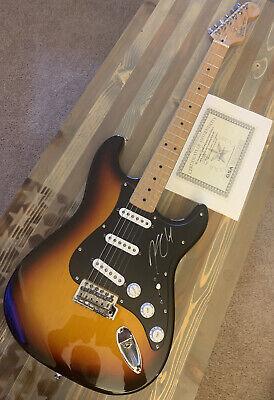 2004 Fender Stratocastor Standard MIM Burst | Autographed by Kenny Chesney
