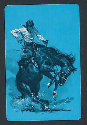 cowboy horse playing card single swap jack of hearts - 1 card