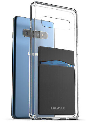 Samsung Galaxy S10e Clear Back Case with Phone Credit Card H