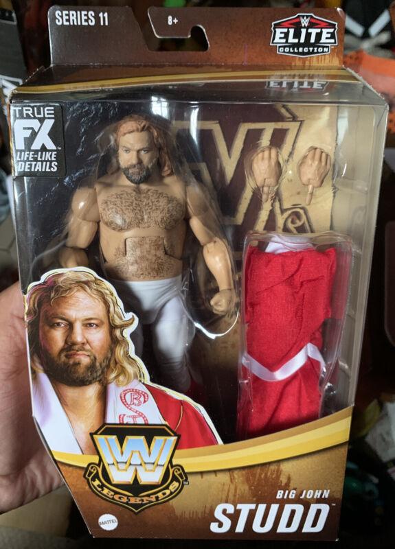 WWE Elite Collection Legends Big John Studd Series 11 NEW 2021 In Hand HTF MOC